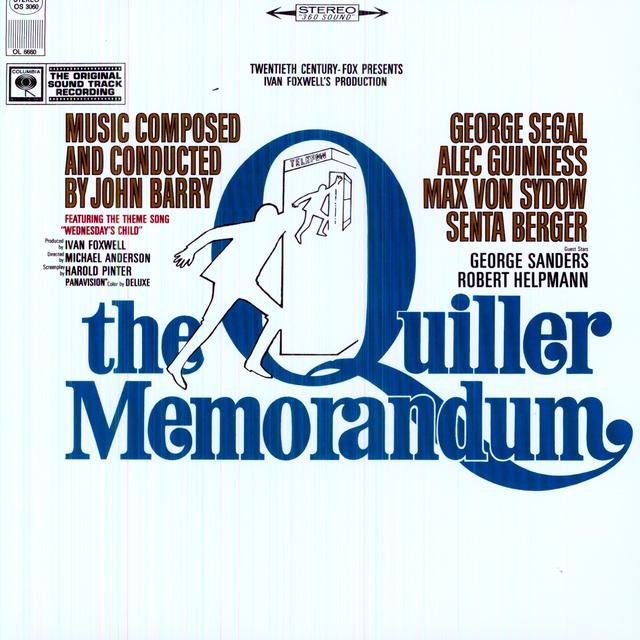 Quiller Memorandum / O.S.T.