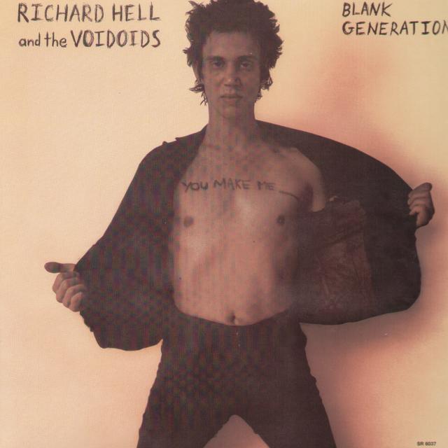 Richard Hell & The Voidoids BLANK GENERATION Vinyl Record