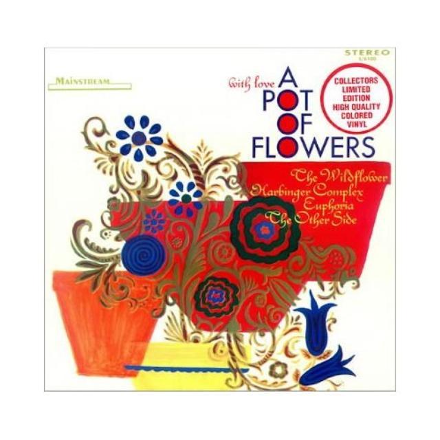 A Pot Of Flowers