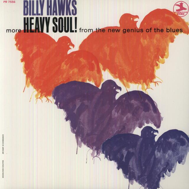 Billy Hawks MORE HEAVY SOUL Vinyl Record