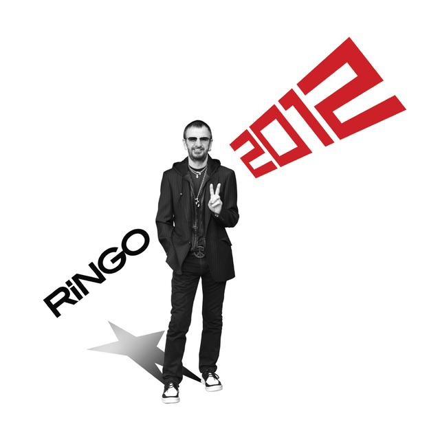 Ringo Starr RINGO 2012 Vinyl Record