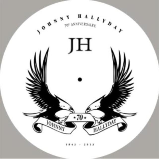 Johnny Hallyday PICTURE VINYLE Vinyl Record
