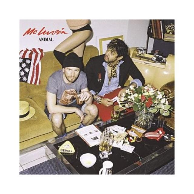 Mc Luvin ANIMAL Vinyl Record