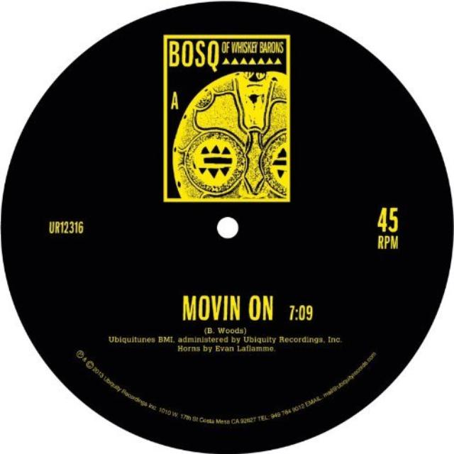 BOSQ MOVIN' ON (UK) (Vinyl)