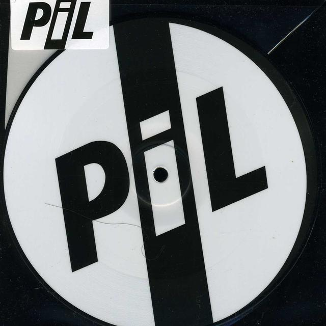 P.I.L. THIS IS NOT A LOVE SONG (PIL LOGO) Vinyl Record - UK Release