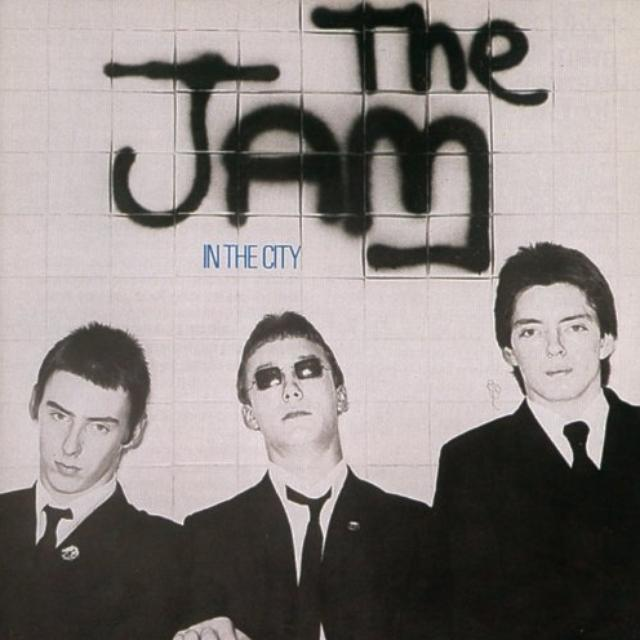 The Jam IN THE CITY Vinyl Record - Canada Import
