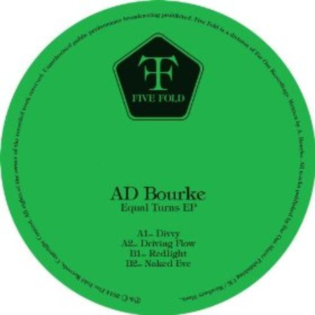 Ad Bourke EQUAL TURNS EP Vinyl Record - UK Release
