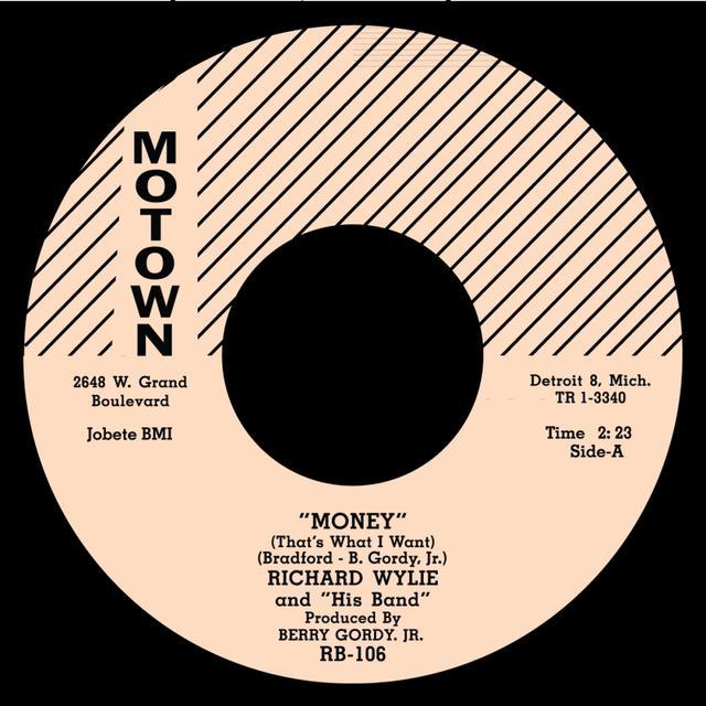 Richard Popcorn Wylie MONEY/I'LL STILL BE AROUND Vinyl Record - UK Release