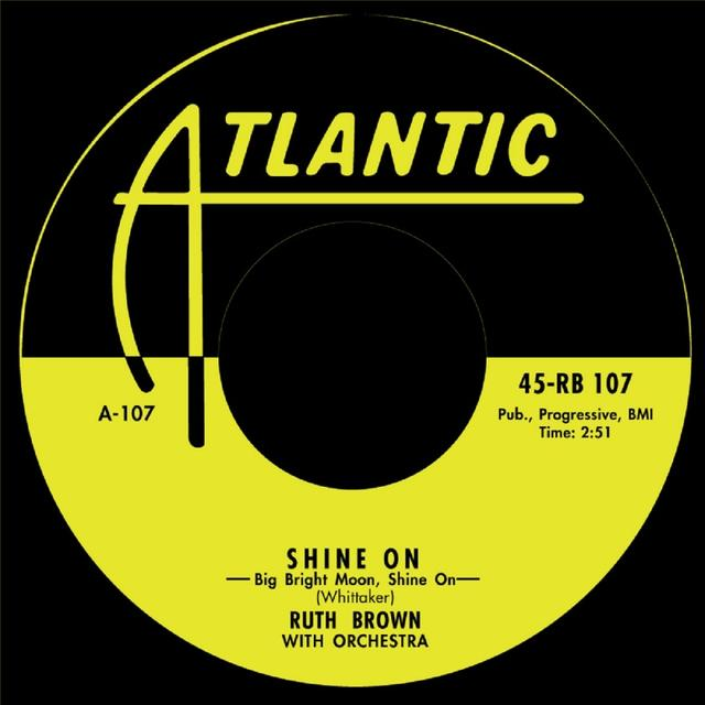 Ruth Brown SHINE ON/PLEASE DON'T FREEZE Vinyl Record - UK Release
