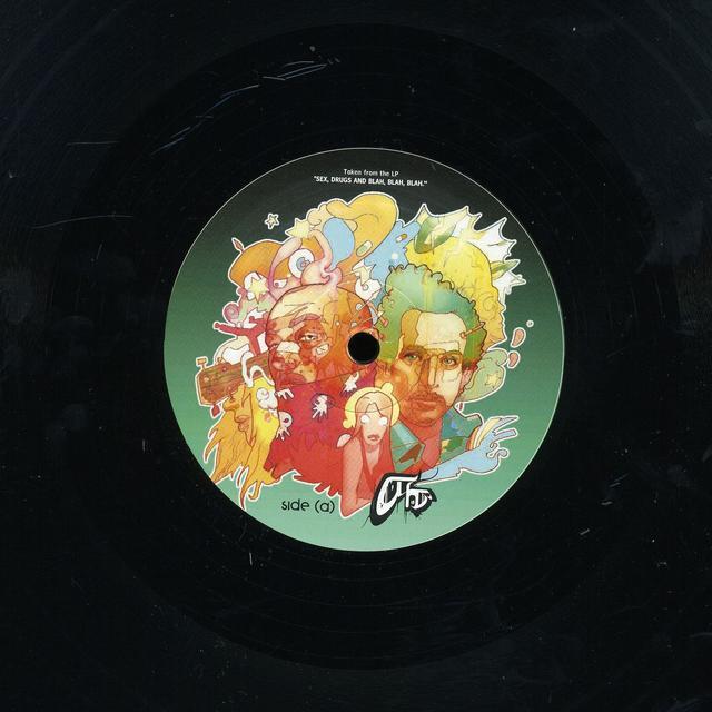 Atomic Hooligan I DON'T CARE (REMIXES) Vinyl Record