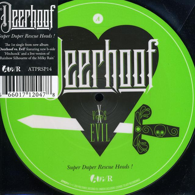 Deerhoof SUPER DUPER RESCUE HEADS Vinyl Record