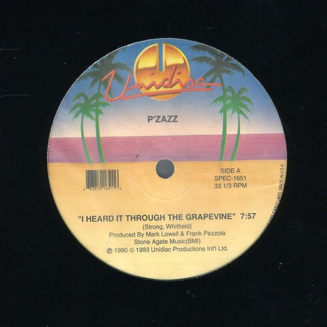 Pzazz/Champagne I HEARD IT THROUGH T/LOVE NOW HURT LATER Vinyl Record