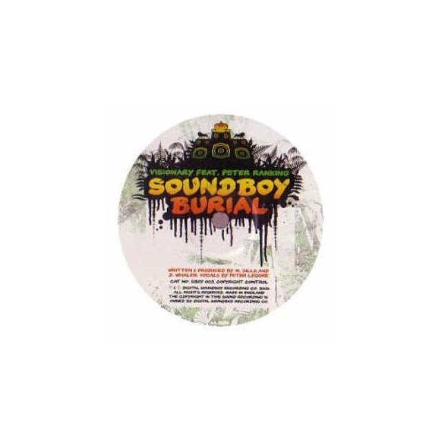 Benny Page.Visionary TURN DOWN THE LIGHTS/SOUNDBOY BURIAL Vinyl Record