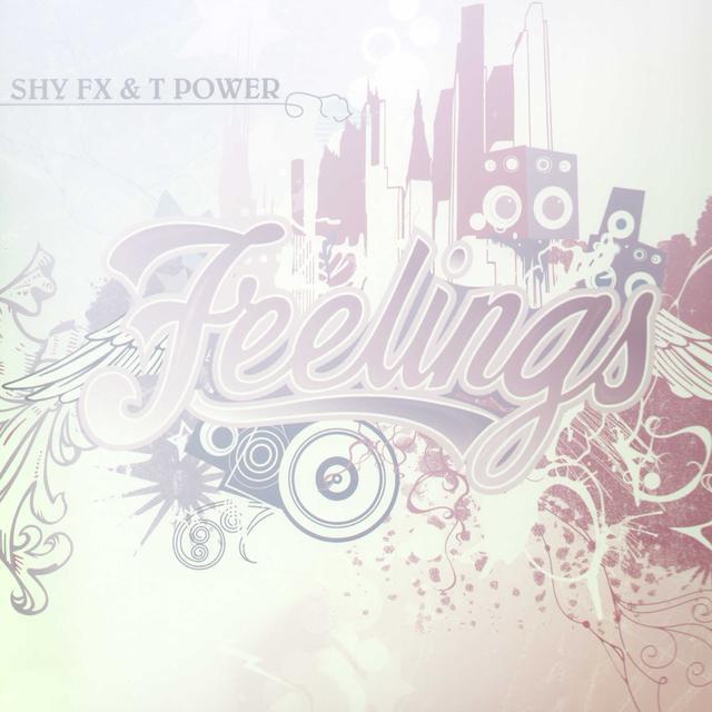 Shy Fx & T Power FEELINGS/BAMBAATA Vinyl Record