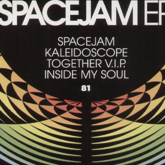 Logistics SPACEJAM EP Vinyl Record - UK Release