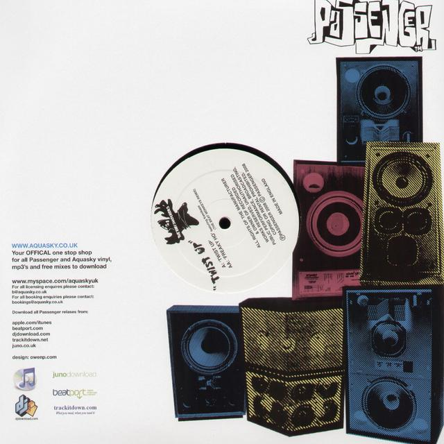 The Bodysnatchers TWIST UP/FREAKY HO Vinyl Record
