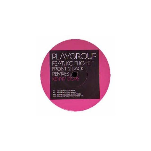 Playgroup FRONT TO BACK PT. 1 Vinyl Record - UK Release