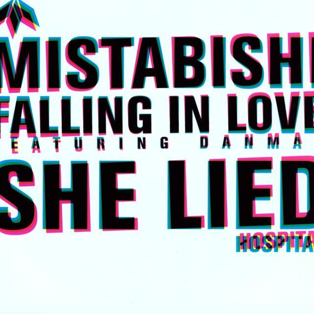 Mistabishi SHE LIED-FALLING IN LOVE Vinyl Record - UK Release