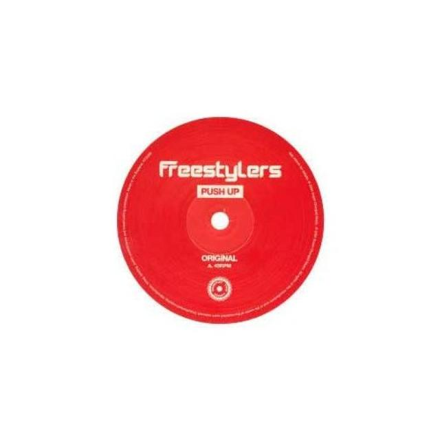 Freestylers VOL. 1-PUSH UP Vinyl Record