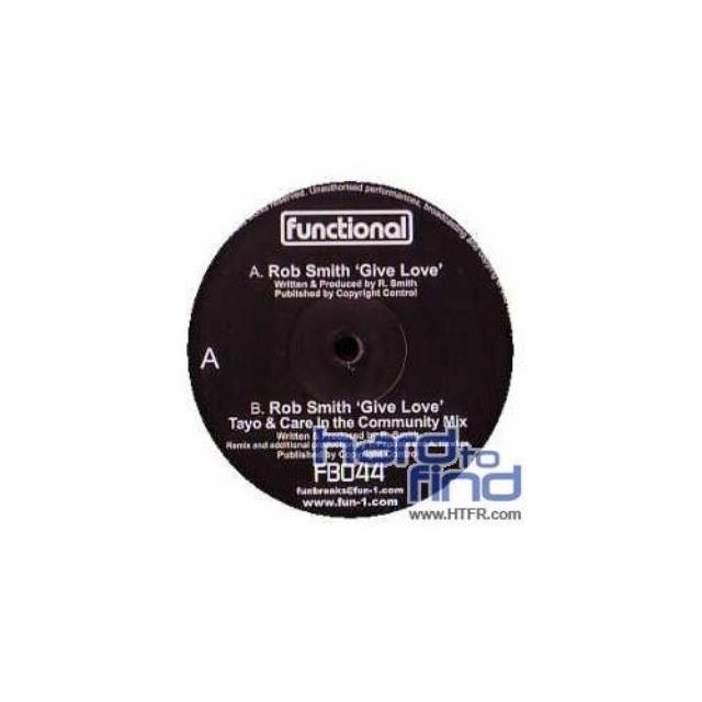 Rob Smith GIVE LOVE Vinyl Record
