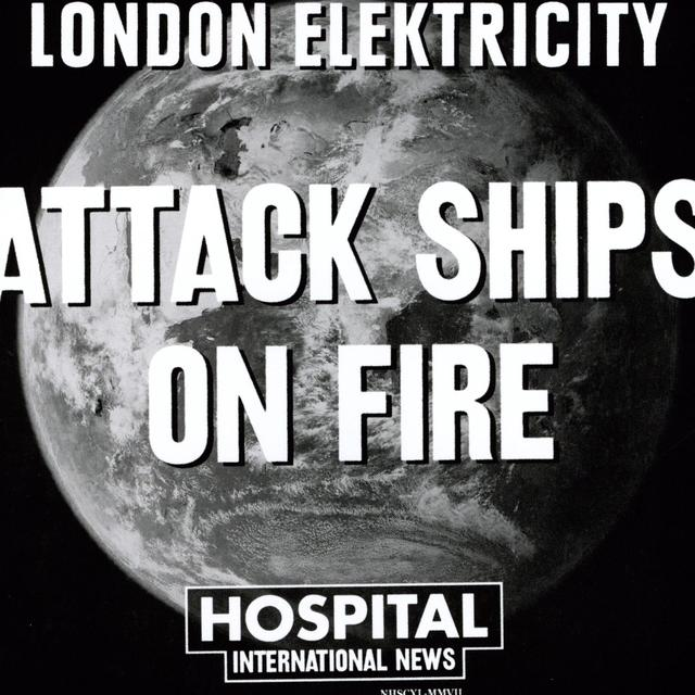 London Elektricity ATTACK SHIPS ON FIRE/SOUTHEASTERN DREAM Vinyl Record