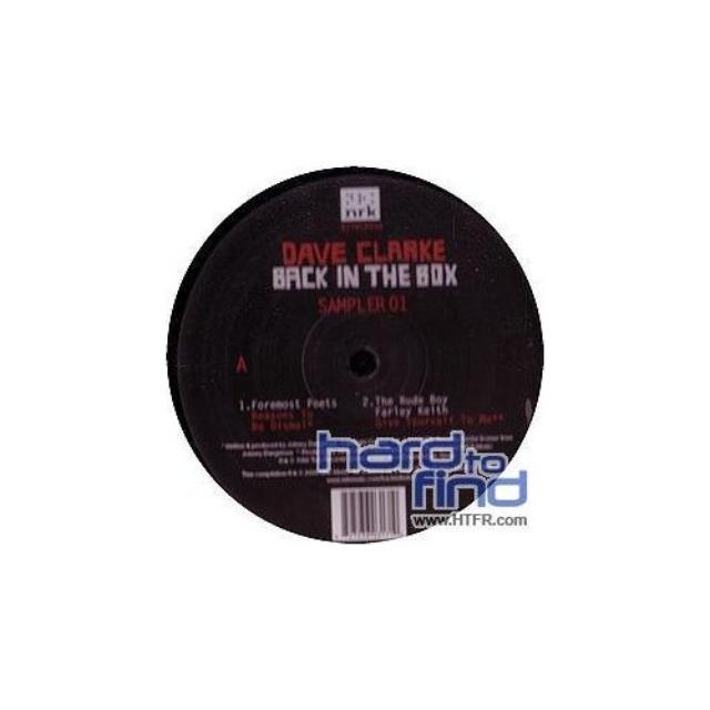 DAVE CLARKE-BACK IN THE BOX Vinyl Record