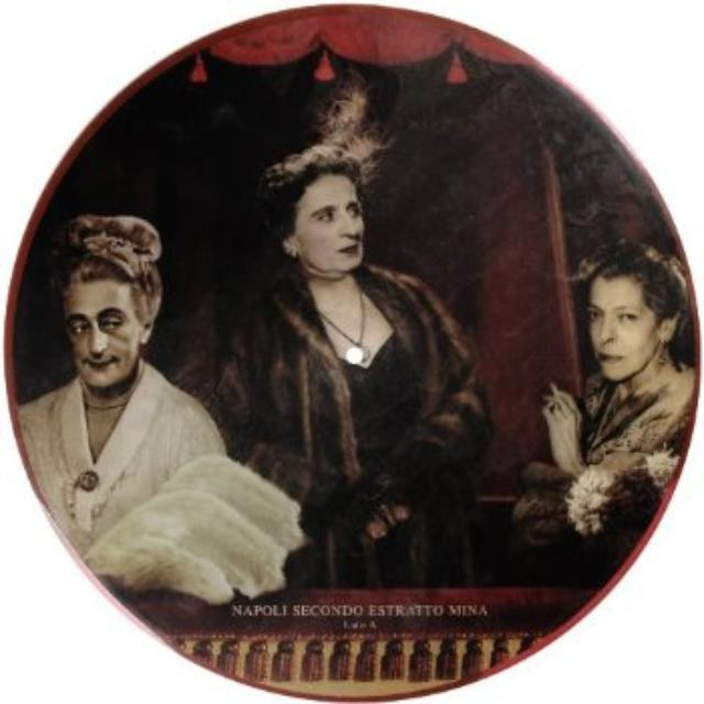 Mina NAPOLI SECONDO ESTRATTO Vinyl Record - Italy Release