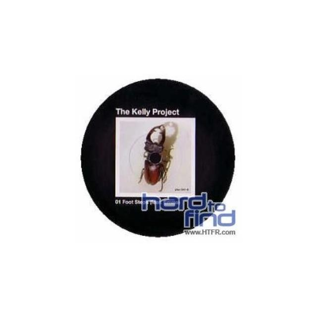 Kelly Project Aka Zo FOOT STEPS Vinyl Record