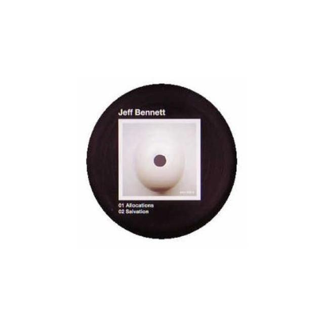 Jeff Bennett ALLOCATIONS Vinyl Record