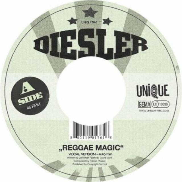 Diesler REGGAE MAGIC Vinyl Record - UK Release