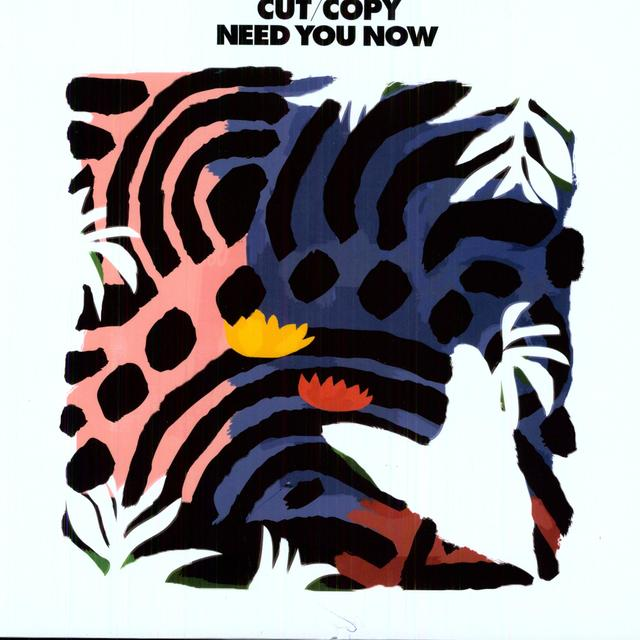 Cut Copy NEED YOU NOW REMIXES Vinyl Record - UK Release
