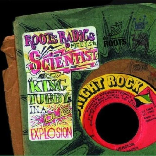 King Tubby & Scientist/Roots Radics IN A DUB EXPLOSION Vinyl Record - UK Release