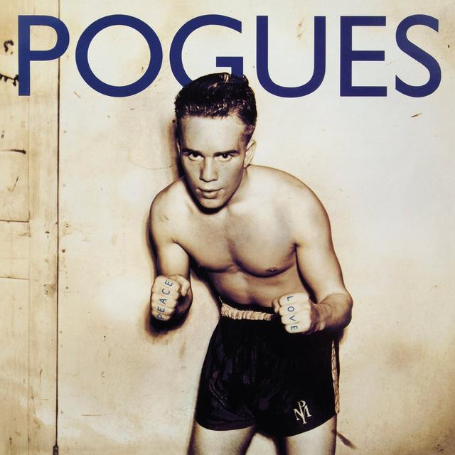 The Pogues PEACE & LOVE Vinyl Record - UK Release