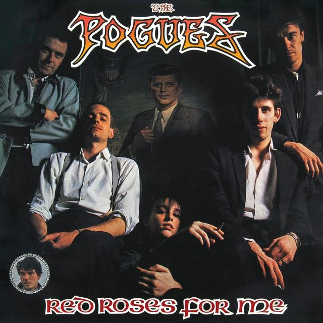 The Pogues RED ROSES FOR ME Vinyl Record - UK Release