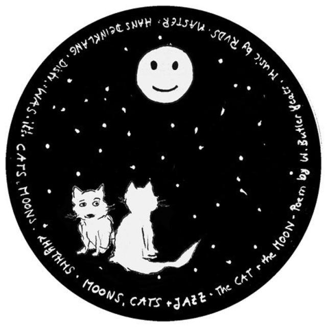 Rvds CAT & THE MOON Vinyl Record