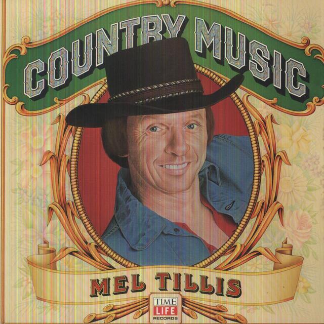 Mel Tillis COUNTRY MUSIC Vinyl Record