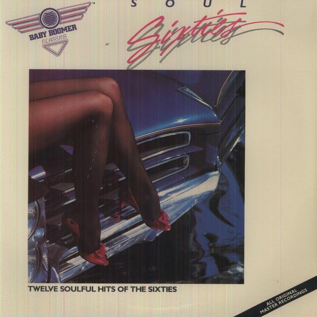 Franklin,Areatha & Sam&Dave SOUL 60S Vinyl Record