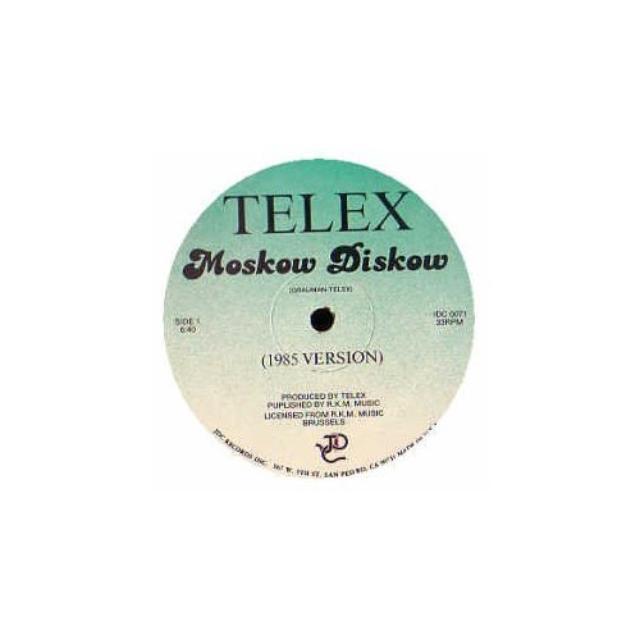 Telex MOSKOW DISKOW Vinyl Record