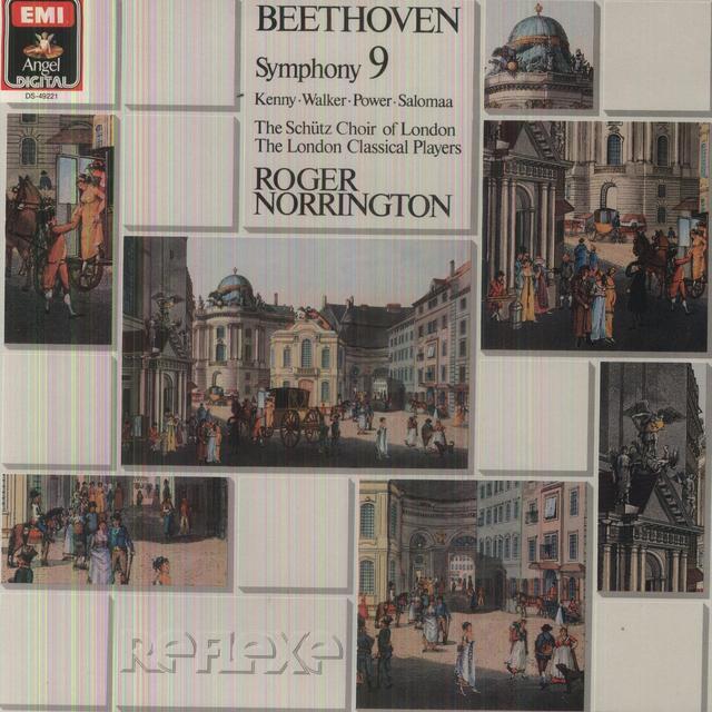 Beethoven / Norrington BEETHOVEN: SYMPHONY NO.9 Vinyl Record