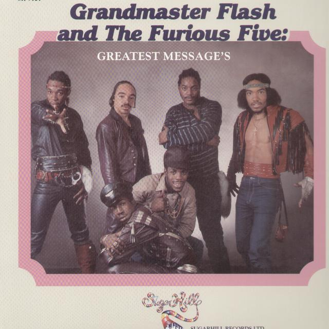 Grandmaster Flash & Furious 5 GREATEST MESSAGE'S Vinyl Record