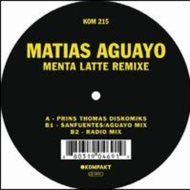 Matias Aguayo MENTA LATTE REMIXE Vinyl Record