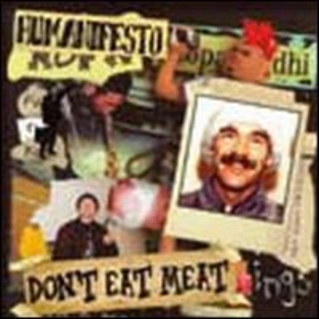 Humanifesto DON'T EAT MEAT Vinyl Record