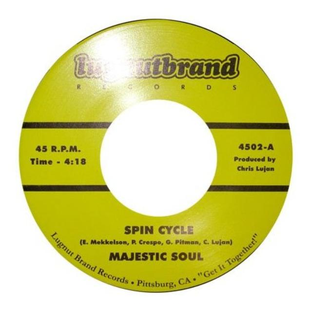 Majestic Soul SPIN CYCLE / RUMP ROAST Vinyl Record