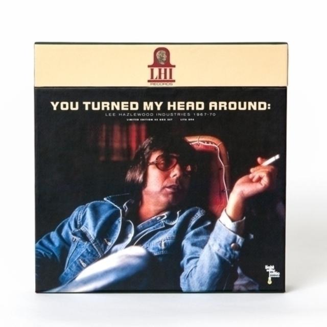YOU TURNED MY HEAD AROUND: LEE HAZLEWOOD INDUSTRIE Vinyl Record