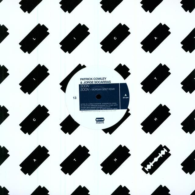 Patrick Cowley / Jorge Socarras SOON (EP) Vinyl Record