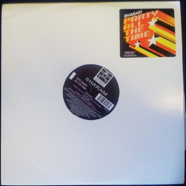 Sharam PATT (PARTY ALL THE TIME) REMIXES Vinyl Record