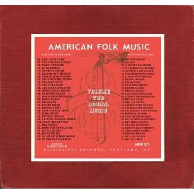ANTHOLOGY OF AMERICAN FOLK MUSIC 2 / VARIOUS (Vinyl)