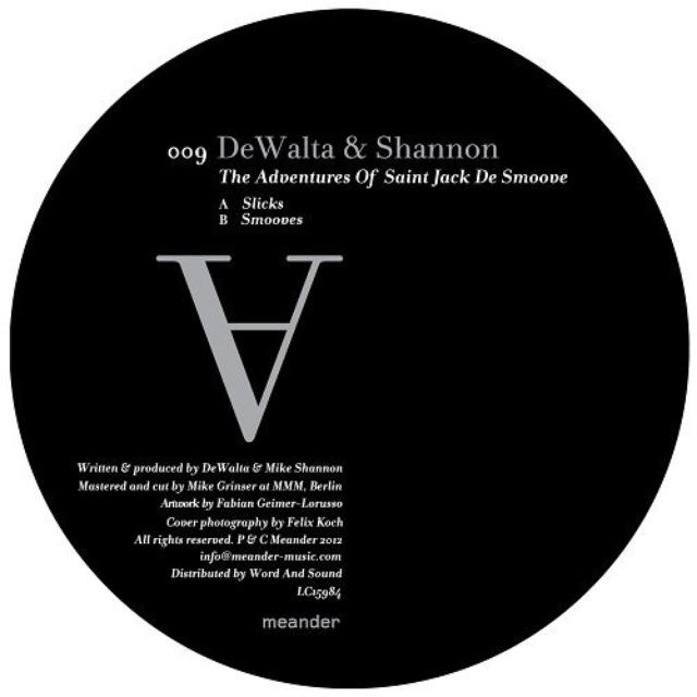 Dewalta & Shannon ADVENTURES OF SAINT JACK DE SMOOVE Vinyl Record