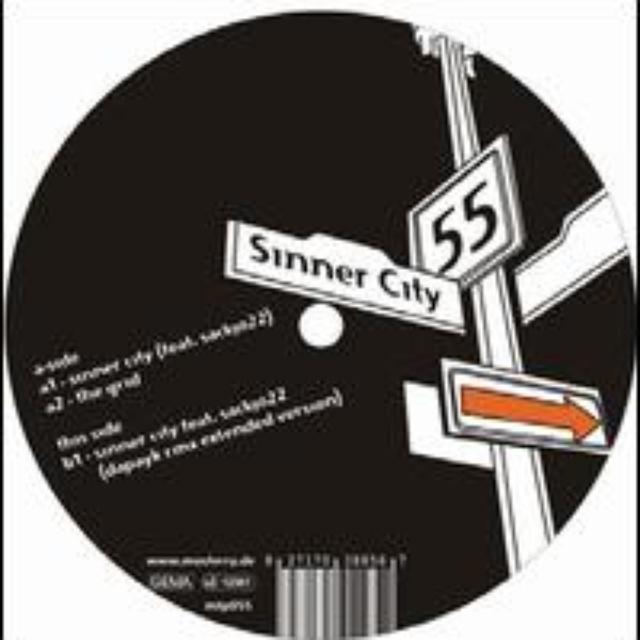Vladimir Corbin & Vladimir Peddy SINNER CITY Vinyl Record