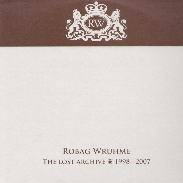 Robag Wruhme LOST ARCHIVE 1998-2007 Vinyl Record
